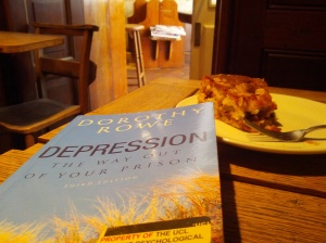 One of said excellent books on depression. I'd better return this book soon.