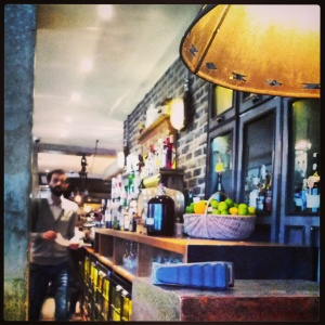 Riding House Café - one of Fitzrovia's favourite haunts