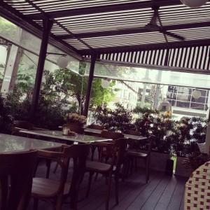 Favourite outdoor corner in Bangkok so far.