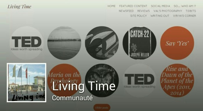 Living Time Facebook Page