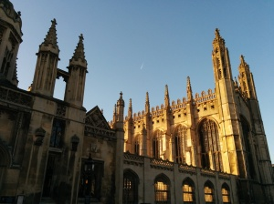 King's College. As seen from front.