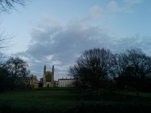 King's College - the postcard side.