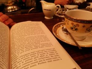 Reading in Japan, 2014.